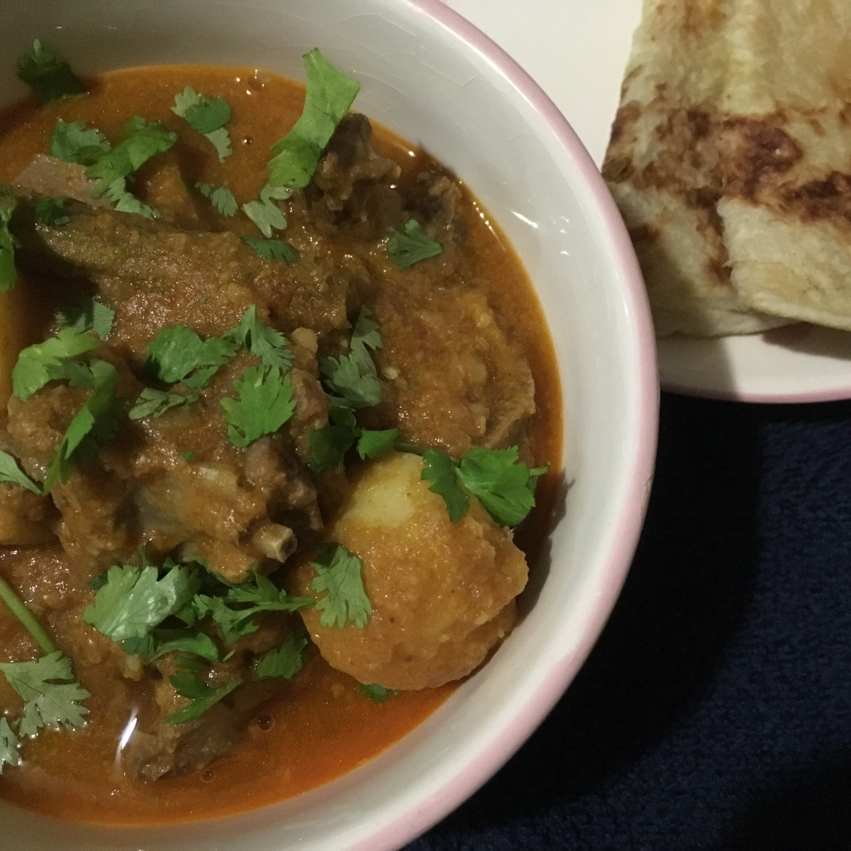 Mutton Dalcha /Goat meat with Dal and Vegetables