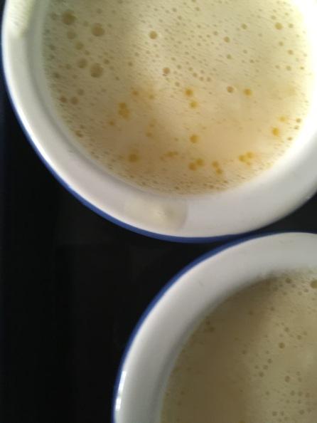 Pour into ramekins